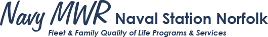 navy mwr NAVSTA Norfolk - Wind & Sea Rec Center C-9 fleet & family quality of life program & services
